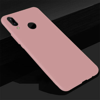 For Huawei P Smart 2019 P20 Lite Nova 3 3i 3e Silicone Soft Matte TPU Case Cover 9