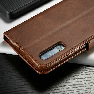 For Samsung Galaxy A70 A50 A40 30 A10 PU Leather Magnetic Wallet Flip Case Cover 7
