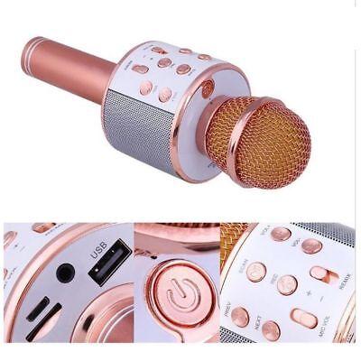 Microfono Altoparlante Bluetooth Wireless Con Speaker Karaoke Novita 5