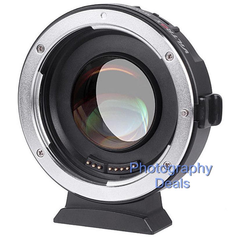 Viltrox EF-M2 II AF Adapter Focal Reducer Booster For Canon EF Lens to M43 MFT 3