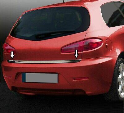 Alfa Romeo 147 - Cornice acciaio cromo barra profilo cromata portabagagli 2
