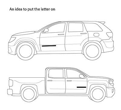 DODGE Black//chrome 3D Emblem Badge Letter Car Truck Hood Trunk Door