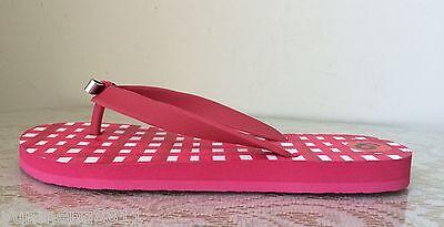 8be68aa6757d0d ... NEW Coach Amel Rubber Sandal flip flop women shoes Q4113 pink white  flat thong 3