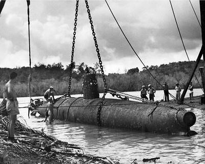 6-Captured Japanese Navy Fleet WW2 Films Submarine I-30 10