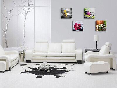 Quadri Moderni ZEN 4 pz. cm 30x30 cad.  Stampa su tela Canvas Arredamento 5