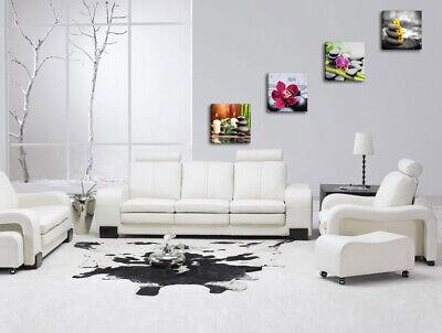 Quadri Moderni ZEN 4 pz. cm 30x30 cad.  Stampa su tela Canvas Arredamento 3
