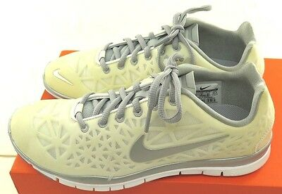 Nike Free TR Fit 3 Womens White / Silver Crosstraining Shoes - NWD* - Medium