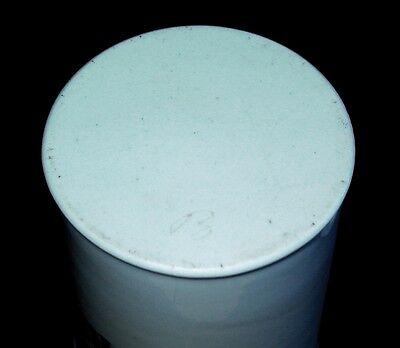 "14,5cm hohes Porzellan Apothekergefäß Aufschrift ""EUCERIN ANHYDRIC"" Tadellos 4"