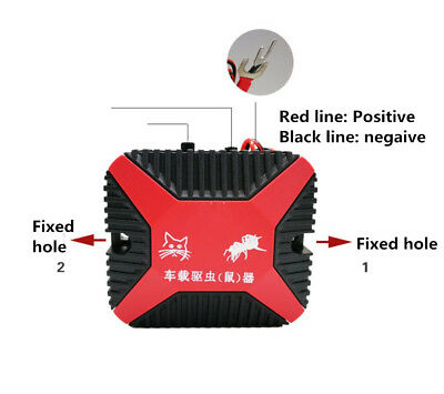 High-Tech 12V Dual Ultrasonic Engine Wire Protection Mouse Chaser Rats Repeller 7