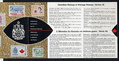 Weeda Canada VF 1968 Annual Souvenir Card #10 in original envelope CV $5 3