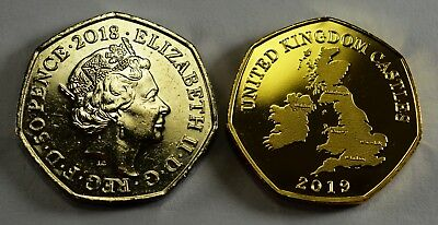 Pair of CONWY CASTLE Commemoratives. 24ct Gold. Silver. Albums/Filler NEW 2019 11