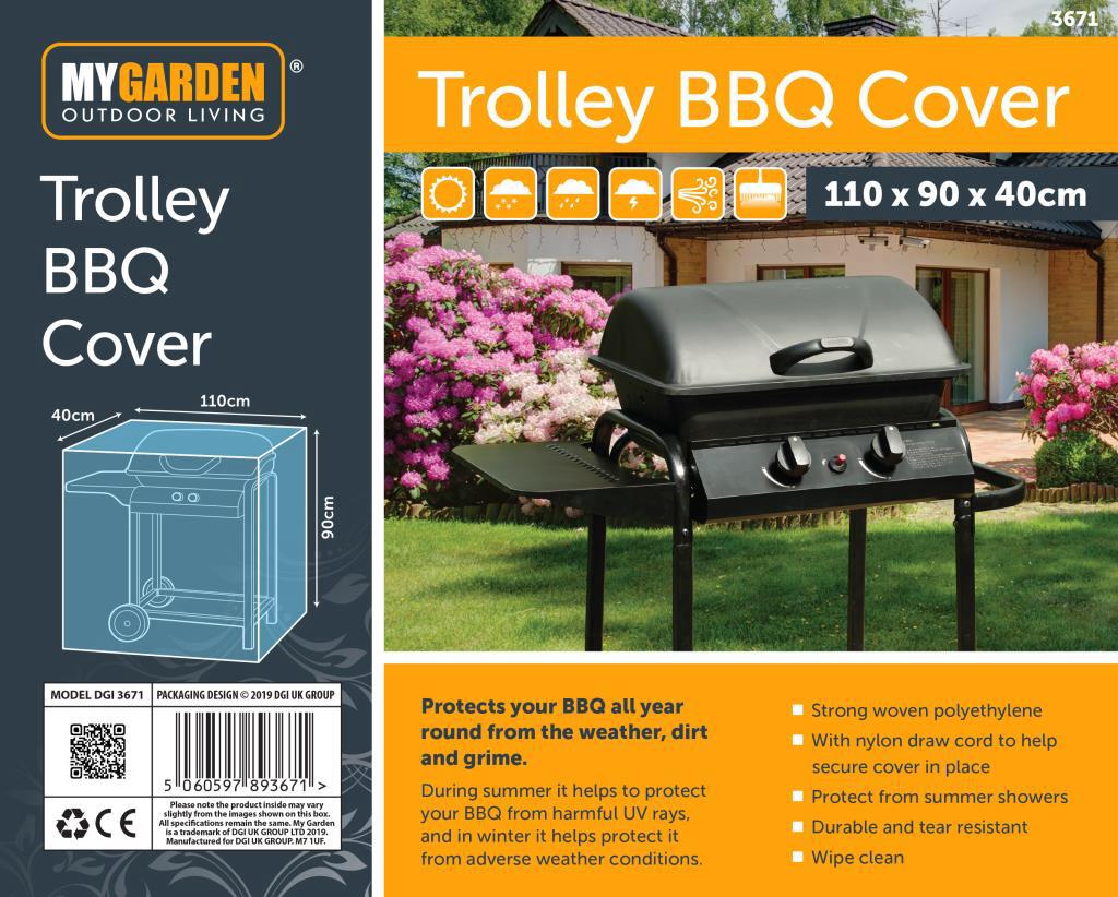 DGI Garden Patio Furniture Cover for Table Bench Parasol Hammock Chiminea BBQ