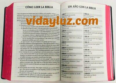 Biblia Letra Grande Reina Valera 1960 Manual Vinyl Negro Index Concordancia 3