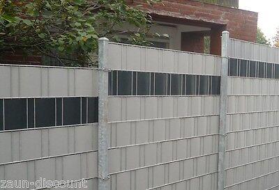 Doppelstabmatten 40m 1830mm Hoch Verzinkt Mattenzaun Gittermatten