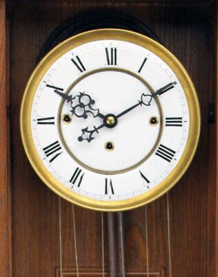 German Gustav Becker 3 Weight Grand Sonnerie Vienna Regulator Clock Movement Set 2