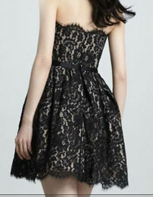 3bc3302522e31 ... ROBERT RODRIGUEZ Target Neiman Marcus Black Lace Dress 2 4 6 8 10 12 14  2