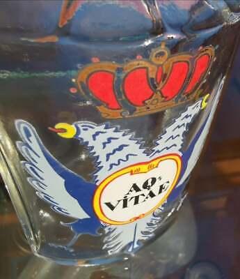 Apotheker - Altes, wunderschönes Apothekerglas - AQ VITAE - Seltenheit (2) 3