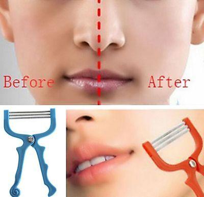 ... 2 of 11 Facial Hair Remover Tool Face Beauty Spring Threading Removal Epilator Epicare 3