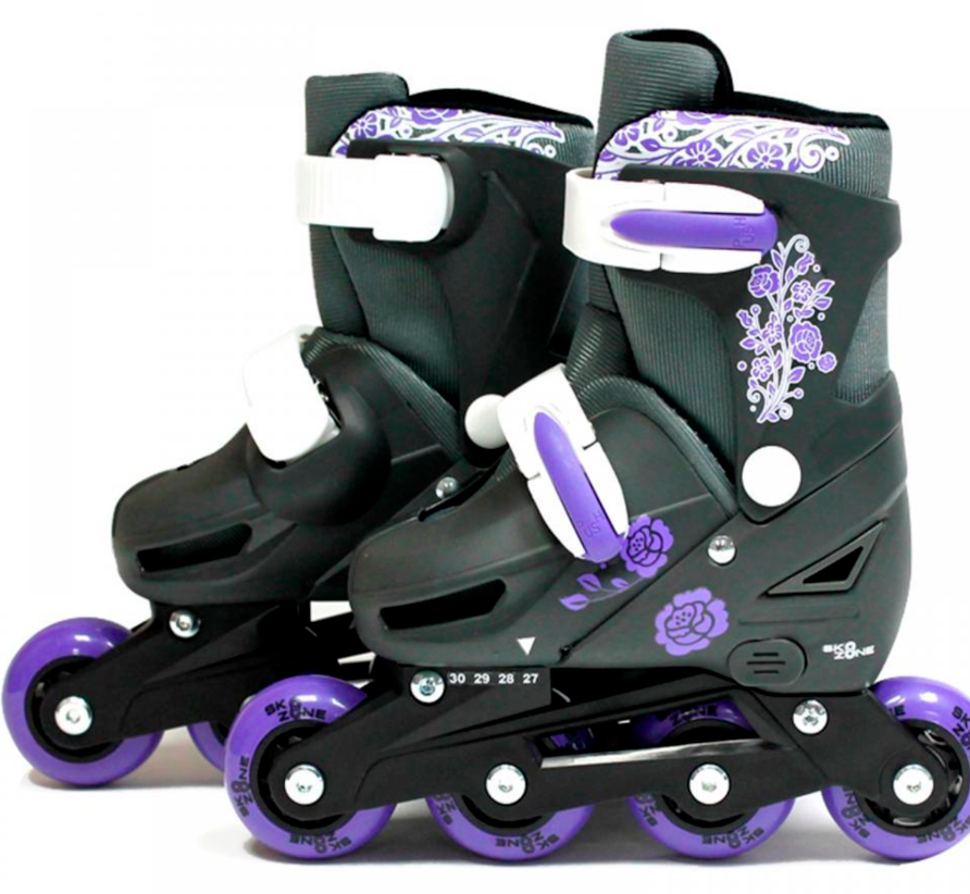Inline Roller Ice Padded Skates SK8 Zone XQ Max Roller Blades Adjustable Sizes