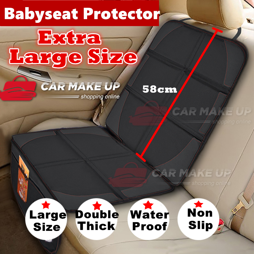 Extra Large Car Baby Seat Protector Cover Cushion Anti-Slip Waterproof Safety 2