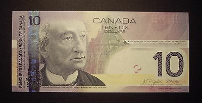 Canada BC-68aA 2007 $10 Replacement Note BTG8172895 - GemUnc 2
