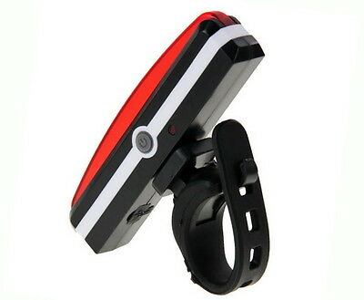 100 Lumens USB Rechargeable COB Bike Front Rear Lights LED Bicycle Riding Lamp 9