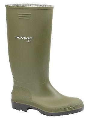 Ladies Mens Dunlop Wellington Boots Hunting Waterproof Rain Festival Wellies 3