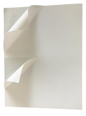 200 Premium 8.5 X 5.5 HALF SHEET SHIPPING LABELS self adhesive -PLS Brand-