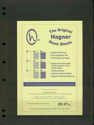 Hagner Single Sided Stamp Album Stock Pages 10
