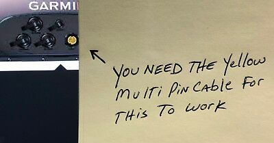 MARINE IR CAMERA BACK UP CAM REVERSE IMAGE FOR GARMIN GPSMAP-4210-4212-5008-7212