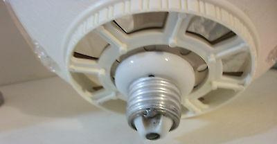 Vtg Retro Ceiling Lamp Light Fixture Lucite Globe Shade Round Porcelain Socket 4