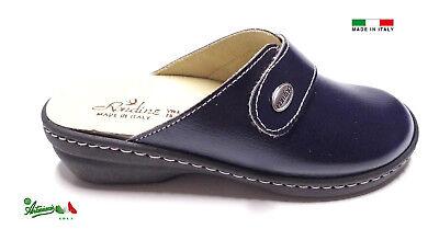 Pantofole ciabatte donna chiuse MADEinITALY PLANTARE ESTRAIBILE 310 italiane 3