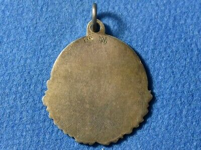 Old, Early 20 Century. Antique Silver Christian Pendant Amulet, Excellent work ! 2