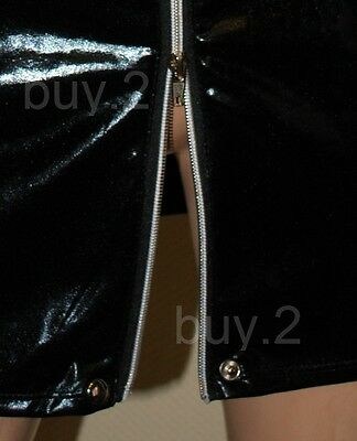 Sexy Wetlook Kleid Leder Look Domina Erotik Gogo Club Fetisch New @ buy.2 4