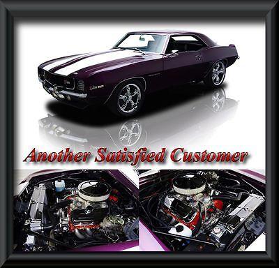 67 68 69 Camaro Firebird 4 Row Dr Radiator Two 10 Fans Big