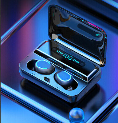 Bluetooth 5.0 Earbuds Wireless Earphones TWS Stereo Deep Bass in-Ear Headphones 3