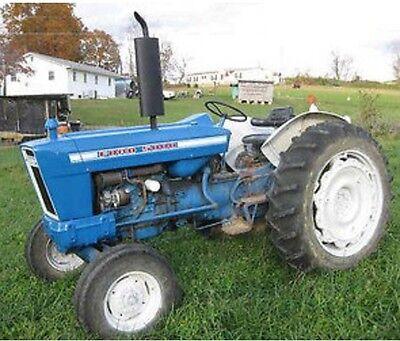 manuals ford   cylinder tractors service parts