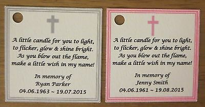 Funeral Candles, Remembrance Candles, Bereavement, Baby Loss, Stillborn 5