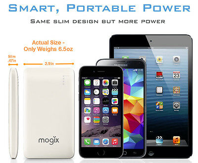 External Battery Pack 10400mAh Fast Charge For iphone, Samsung, HTC etc. 6