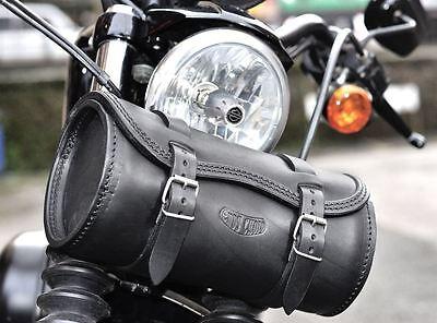 Harley Davidson Round Tool Bag Bobbers Choppers Italian