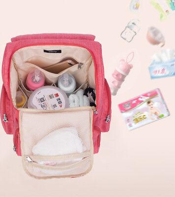 DISNEY Mickey Minnie Baby Maternal Stroller Maternity Nappy Bag 6