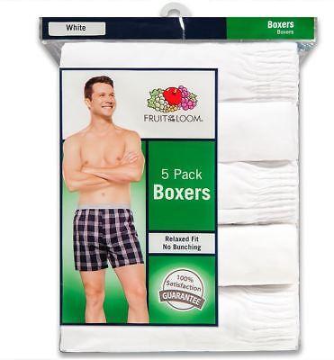 Fruit Of The Loom Men's 10-Pack White Boxers  S--3X 2