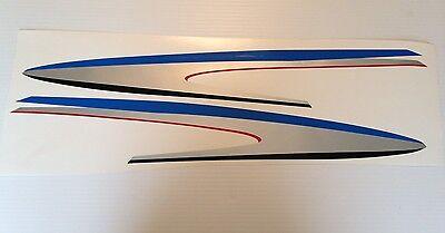 Marine Vinyl not ink-jet Yamaha Outboard Motor Decal Kit 225  hp 4 Stroke Kit