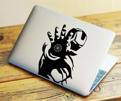 607e0e074f09 IRON MAN SUPERHERO Apple Macbook Laptop Decal Vinyl Sticker