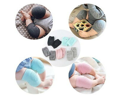 5 Pairs NEW Baby Crawling Knee Pads Safety Anti-slip Walking Leg Elbow Protector