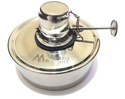 Dental Lab Jeweller Spirit/Alcohol Bunsen Burner Lamp Adjustable Woven Wick