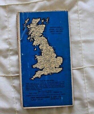 1910-1941 Antique Bartholomew's half inch map - GB sheet 23 N. Shropshire 2