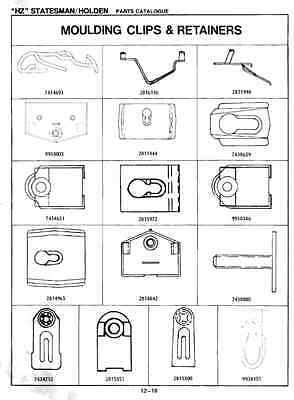 Holden Wb Parts Manual