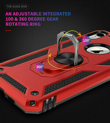For iPhone 11 Pro XS Max XR 7 8 Plus Shockproof Magnetic Heavy Duty Case Cover 9