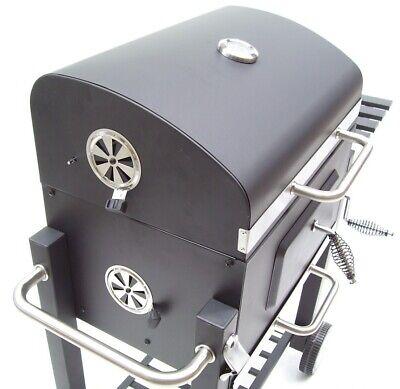 56511 Bbq Barbecue Grill Griglia Carbone Carbonella Ripiano Affumicatore 3